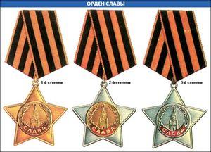 Полный кавалер орденов Слава