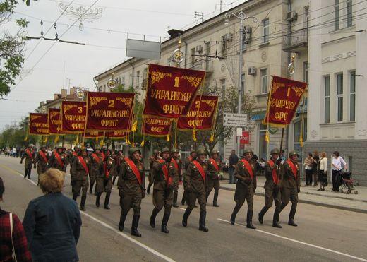 Севастополь военный парад