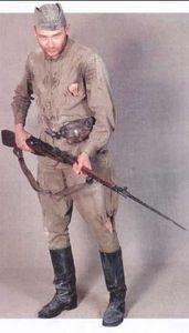 В зимней полевой форме пехота 1943 1945